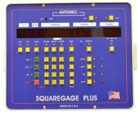 Square Gage Frontgauge Control