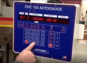 New CNC 150 Autogauge Press Brake Control