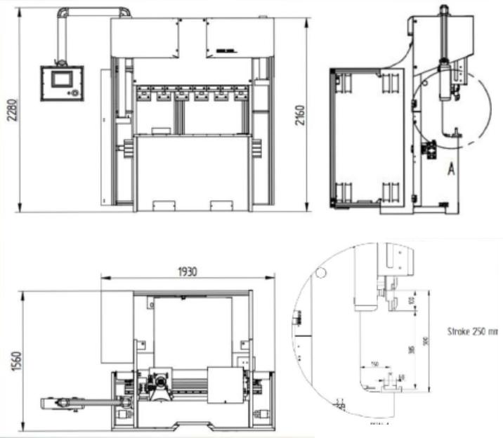 C12 Diagram - Small Press Brakes