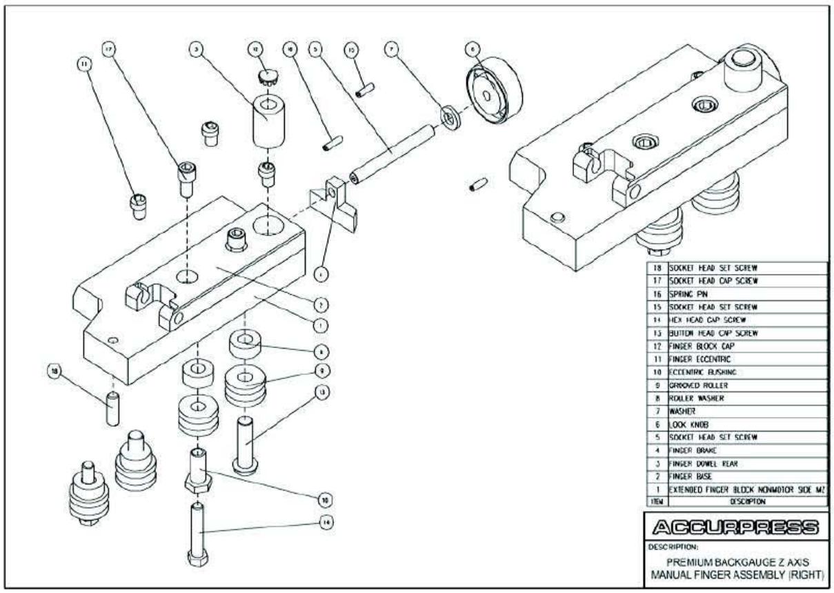 Press Brake Accurpress Parts and Assemblies Manual