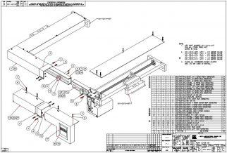 HURCO Backgauge, LP21 Rear Cover Kit 001-2010-008 thru 012