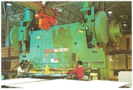 Series L Mechanical Press Brakes. Capacities 300-3000 tons
