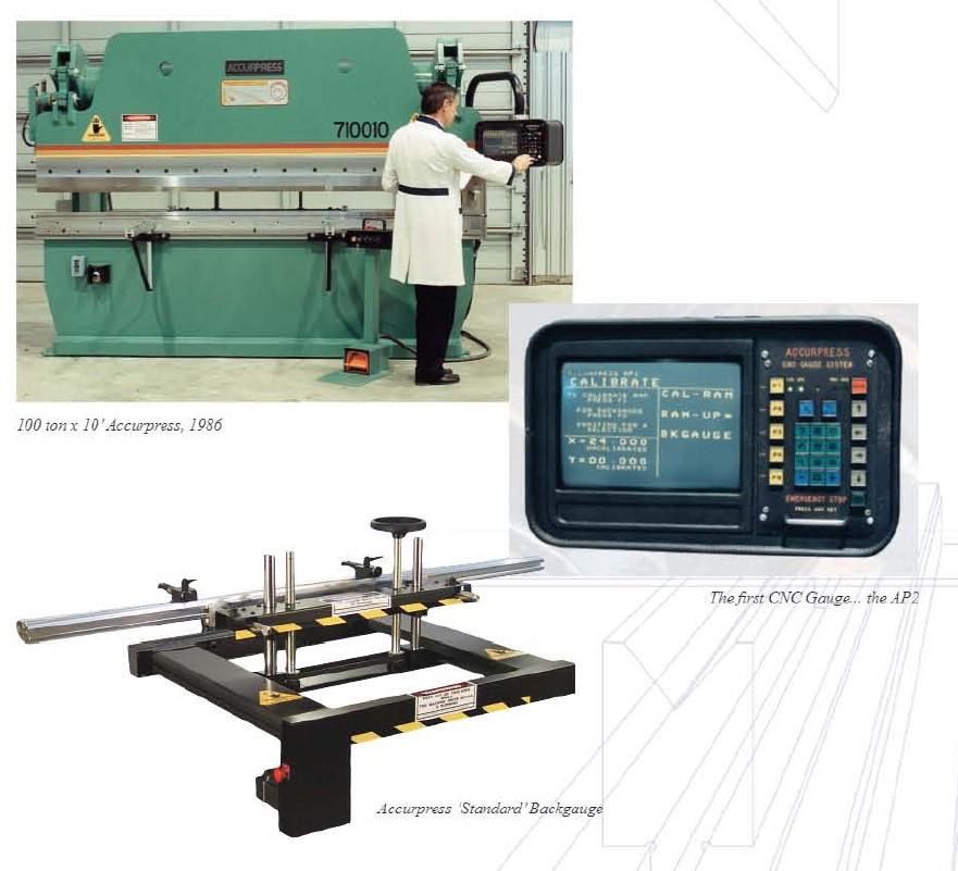 Accurpress's first CNC Controller AP2
