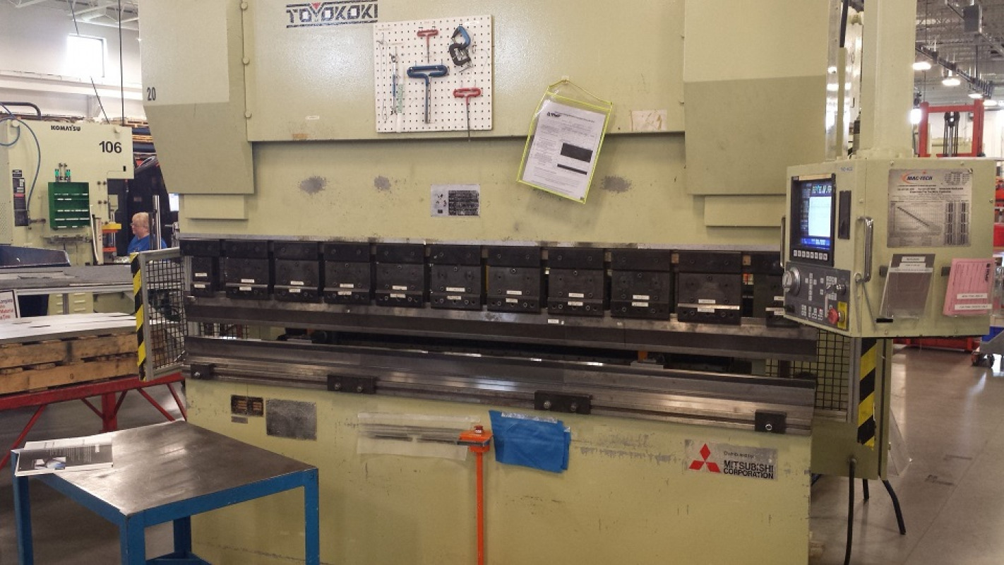 Toyokoki APB 8025w press brake
