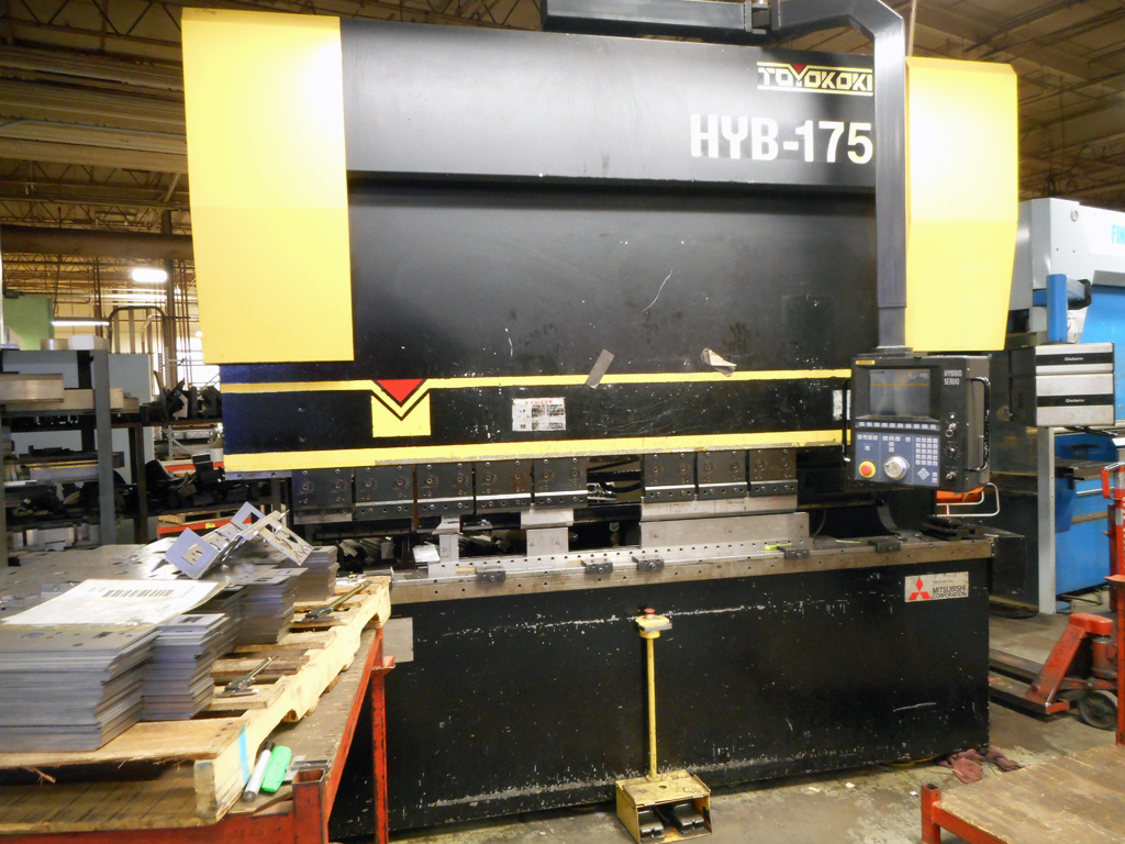 Ttoyokoki HYB 175 press brake